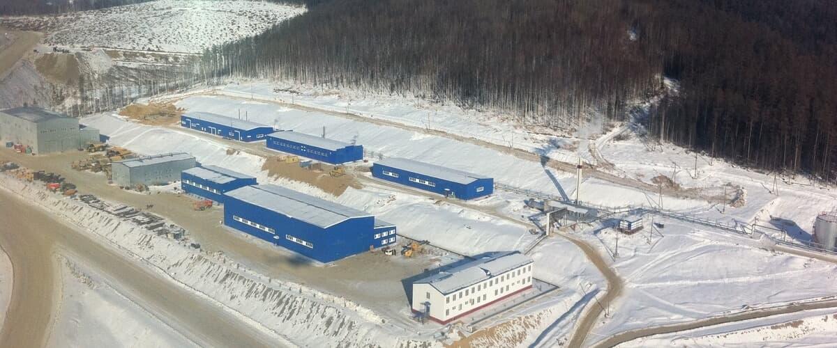 Объекты горнотранспортного комплекса. Золоторудное месторождение «Маломыр»