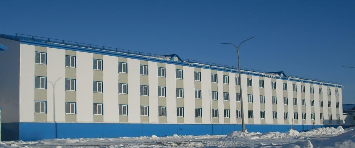 Общежитие на 150 мест. Киринское НГКМ